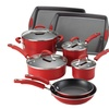 Rachael Ray Cookware Set with 2 Bakeware Pieces (10-Piece)