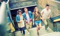 """90 Min. Outdoor-Gruppenspiel """"Verloren im Zeitmeer"""" für 2 bis 12 Personen mit Fundays Berlin (bis zu 57% sparen*)"""