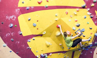 image for Indoor Climbing Package for Up to Four at The Climbing Academy Glasgow (Up to 71% Off)