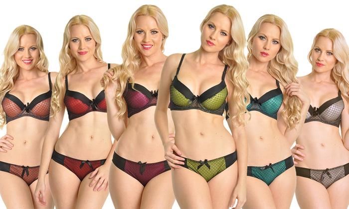 629a1c798e9b Women's Eyelet Lace Bras (6-Pack) or Matching Bikini Panties (12-Pack)