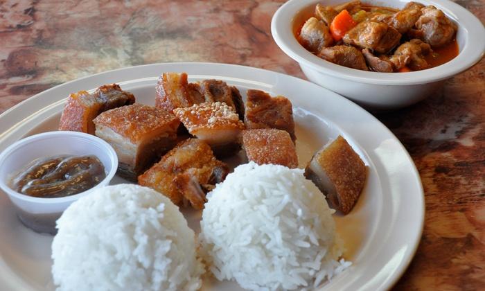 Halo-Halo Kitchen - Halo-Halo Kitchen: Filipino Food at Halo-Halo Kitchen (Up to 45% Off). Two Options Available.