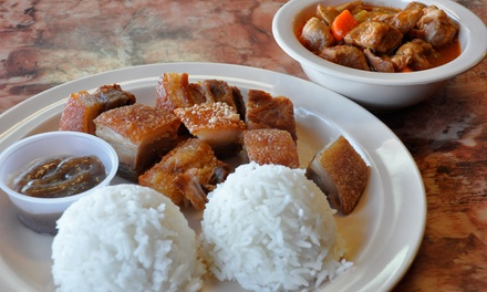 Filipino Food at Halo-Halo Kitchen (Up to 45% Off). Two Options Available.