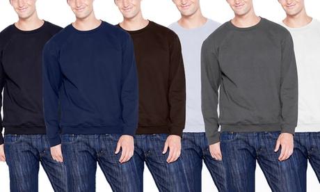 Men's Fleece Pullover Sweatshirt 1d82e303-ed7e-436b-826b-a5d3d5168aa6