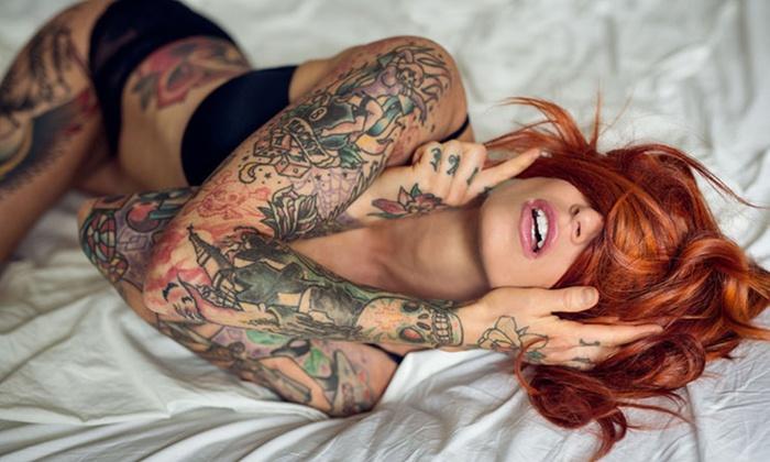 Wykonanie pełnego tatuażu 5x5 cm od 79,99 zł i więcej opcji w Studiu Simple & Chic Tattoo