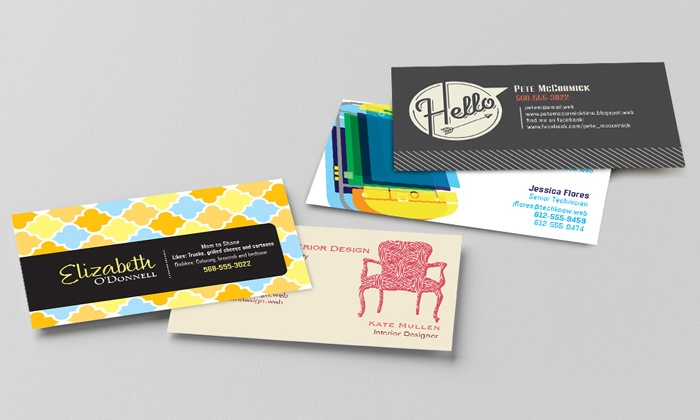 Vistaprint: Business Cards from Vistaprint (Up to 52% Off)