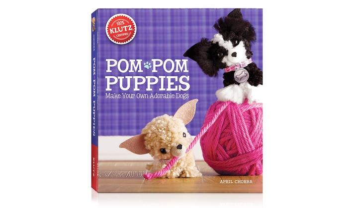 Pom pom puppies craft kit groupon goods for Pom pom puppy craft
