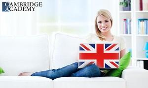 Cambridge Academy: 6, 12 oder 18 Monate Online-Sprachkurs Englisch mit Abschlusstest und Zertifikat bei Cambridge Academy (90% sparen*)