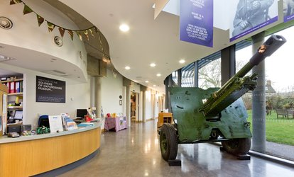 image for Soldiers of Oxfordshire Museum: Entry for Two Adults or a Family (Up to 42% Off)