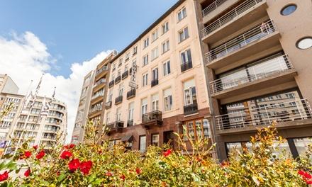 Blankenberge: tweepersoonskamer met zeezicht incl. ontbijt en naar keuze extra's voor 2 personen in Hotel Malecot