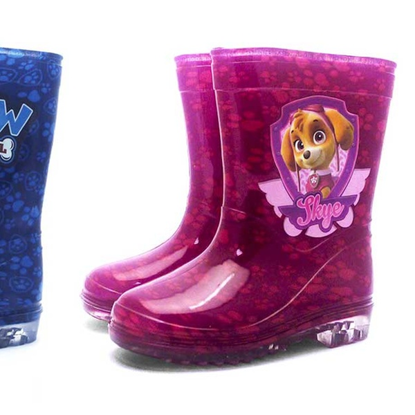 Paw Patrol Girls Kids Rainboots Boots Wellington