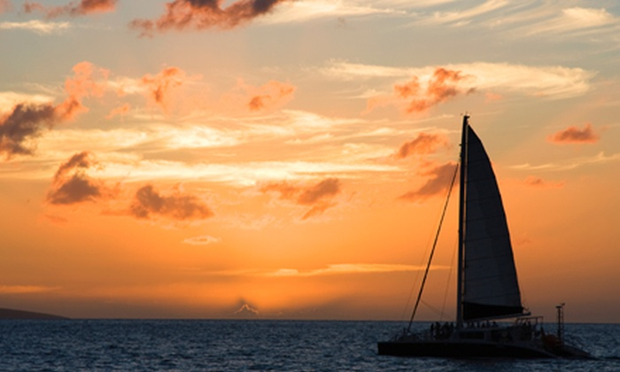 North Shore Catamaran Charters - Haleiwa: Sunset Cruise for an Adult or Child from North Shore Catamaran Charters (Up to 59% Off)