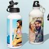 Botella con foto personalizable