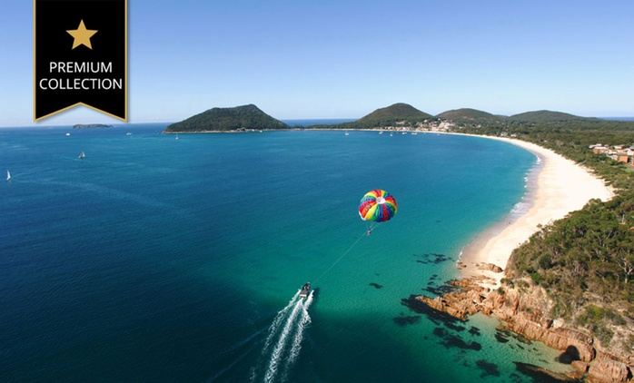 Shoal Bay: 2 Nights Stay for Up to 4 People with Sparkling Wine and Bike Hire at Ramada Resort Shoal Bay