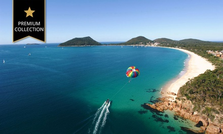 Shoal Bay: TwoNight Beachside Escape for Up to Four People with Sparkling Wine and Bike Hire at Ramada Resort Shoal Bay