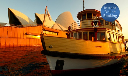 FourHour Australia Day Cruise with Food and Drinks: $59.90 for Adult Ticket Up to $95 Value