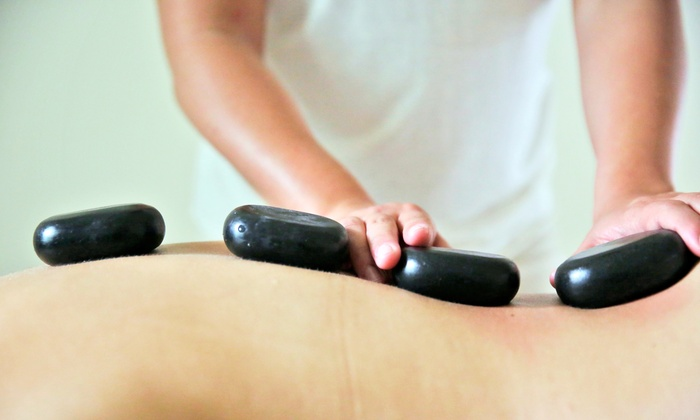 Santi- House of Wellness - White Plains: 60- or 90-Minute Sage Deep-Tissue or Puce Hot-Stone Massage at Santi- House of Wellness (Up to 59% Off)