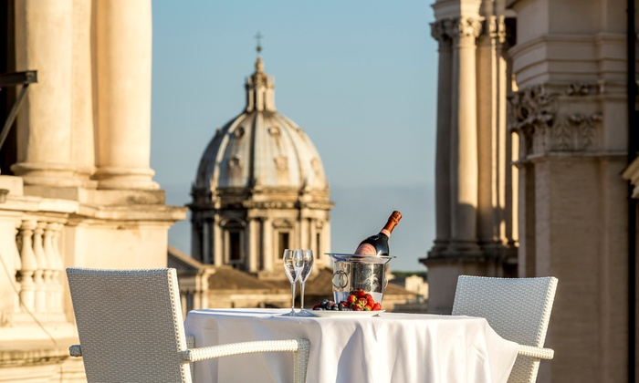 Astice, ostriche e vino a Palazzo Pamphilj - Terrazza Borromini ...