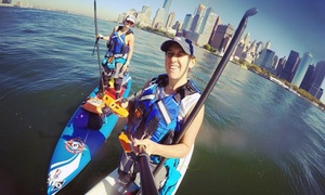 Manhattan Kayak: Kayak and Standup-Paddleboard Packages from Manhattan Kayak (Up to 52% Off). Four Options Available.