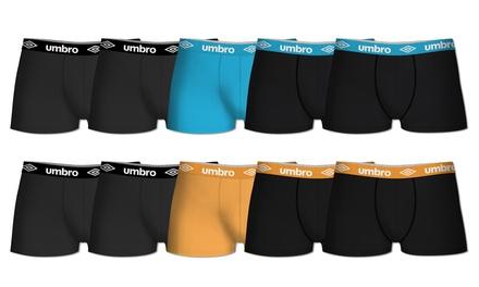 Lot de 5 boxers coton UMBRO