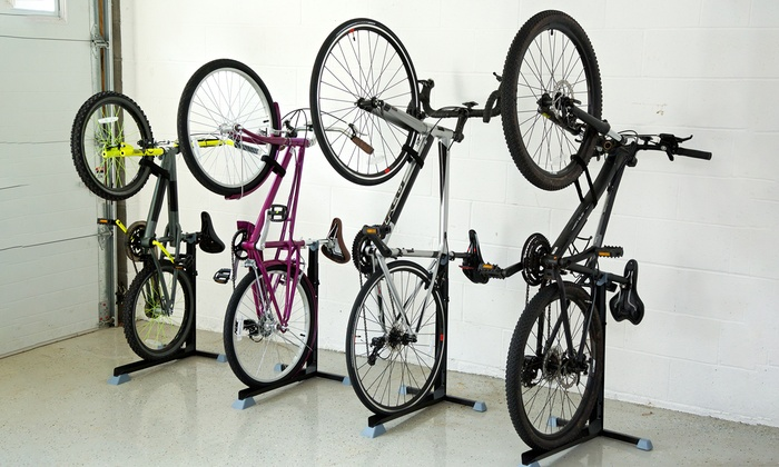 bike nook rangement pour v los groupon shopping. Black Bedroom Furniture Sets. Home Design Ideas