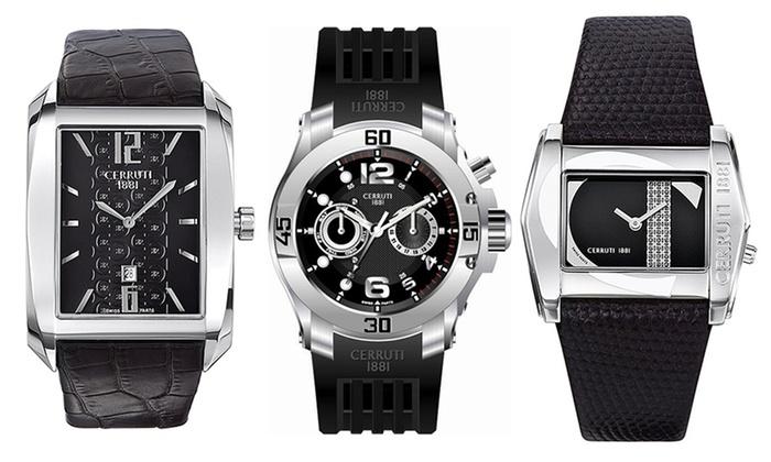 6d98fedde1 Cerutti 1881 Watches | Groupon Goods