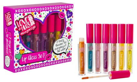 Sambro Love and Hugs XOXO Lip Gloss Set