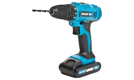 Mylek Cordless Drill and 13-Piece Accessory Kit With Free Delivery
