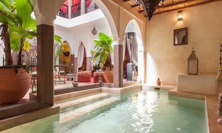 ✈ Marrakech: 3 of 4 nachten verblijf in 4* Riad Kamar Zamane met ontbijt en vlucht vanaf EIN