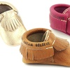 First Steps Kids' Genuine Leather Moccasins