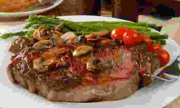 La Patagonia Argentina - Flagami: Steaks, Seafood, and Pasta for Dinner at La Patagonia Argentina (48% Off). Two Options Available.