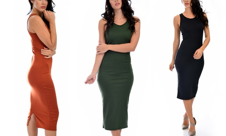 Lyss Loo Hourglass Bodycon Midi Dress (3-Pack) 343a15fc-77a6-4401-b44d-a8169a233dc3
