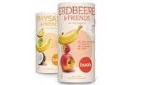 Wertgutschein über 30 € anrechenbar auf Smoothies und Snack (Physalis & Friends und Erdbeere & Friends) bei Buah