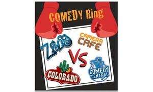 Comedy Ring: Comedy Ring, il 22 maggio al Teatro della Gioventù di Genova (sconto 50%)