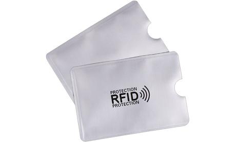2, 4 o 6 fundas de protección de identidad con bloqueo RFID