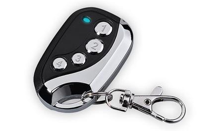 1, 2 ou 4 télécommandes universelles, fonction de copieur, AZ Remote® pour portail, lumière, alarme, porte de garage