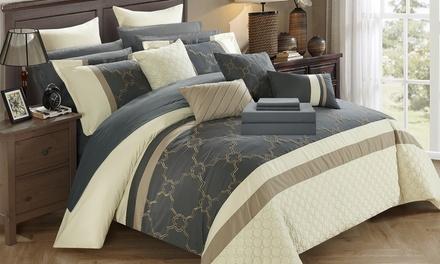Lorimer Bedroom-in-a-Bag Comforter Set (16-Piece)