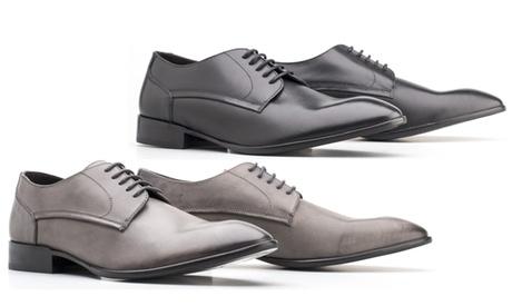 Zapatos de cuero pulido Base London Morse para hombre