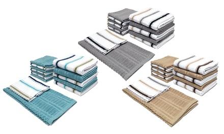 Casanova Kitchen Towel and Dish Cloth Set (14-Piece)