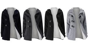 Manteau en coton mélangé femme