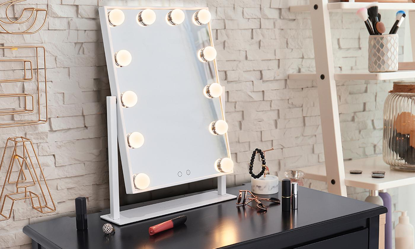 GloBrite Glam Hollywood Mirror With Free Delivery