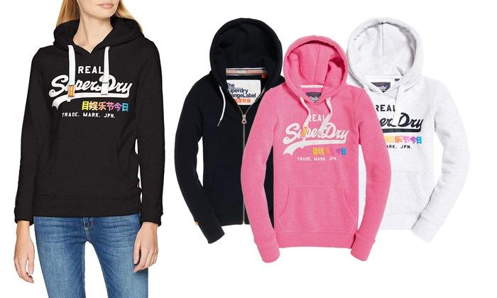 super popular 66837 86e4c Bis zu 33% Rabatt Superdry Damen-Sweater | Groupon