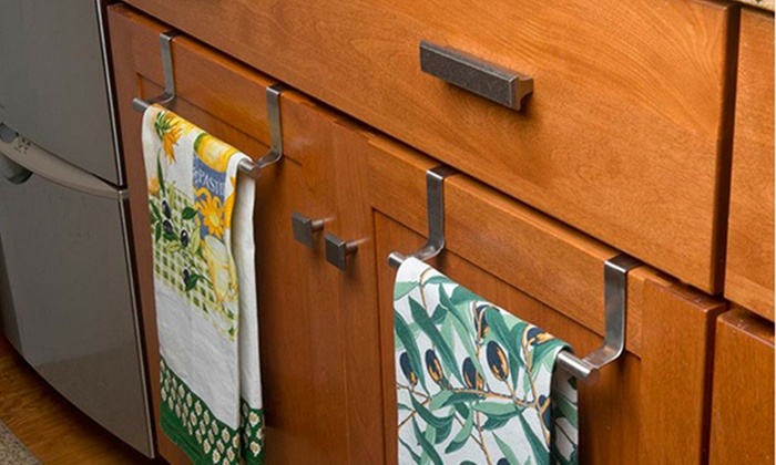 Kitchen Towel Racks For Cabinets kitchen towel bar.stainless steel towel bar rotating towel rack