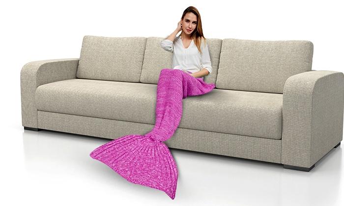 B2Y: בת הים החמימה: כרבולית צמר מפנקת בעיצוב סנפיר בת הים (אולי גם הנסיך יגיע)
