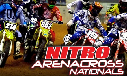 Nitro Arenacross Nationals on Friday, December 28, at 7 p.m.