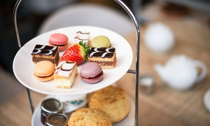 Wyevale Garden Centres Limited: Seasonal Afternoon Tea for Two or Four with Patisserie, Scones and Sandwiches at Wyevale Garden Centres (Up to 41% Off)