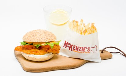 image for Choice of Meal with Drinks for Two or Four at McKenzies Kitchen (Up to 45% Off)