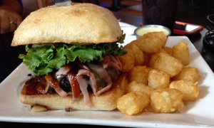 Up to 48% Off Food and Drinks at Doc's Pad Bar and Grill at Doc's Pad Bar and Grill, plus 6.0% Cash Back from Ebates.