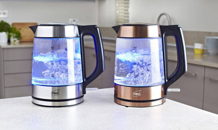 Neo LED Nordic Glass Kettle