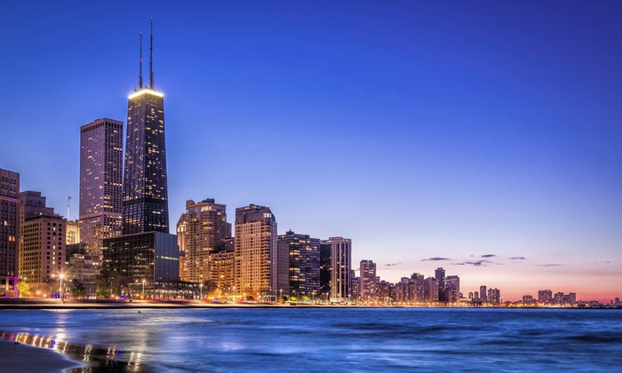 4.5-Star Hotel with Daily Parking on the Mag Mile