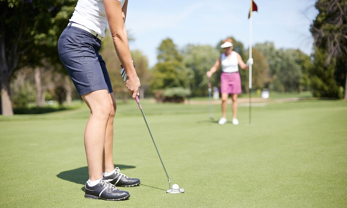 Shaker Farms Country Club - Westfield: 18 Holes of Golf for One, Two, or Four with Cart and Lesson at Shaker Farms Country Club (Up to 62% Off)